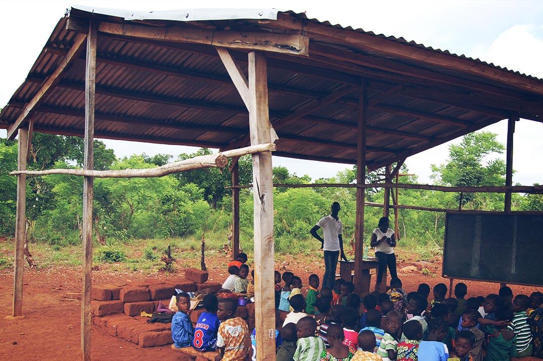 Benin Fondation Charruau Ecole Plein Air
