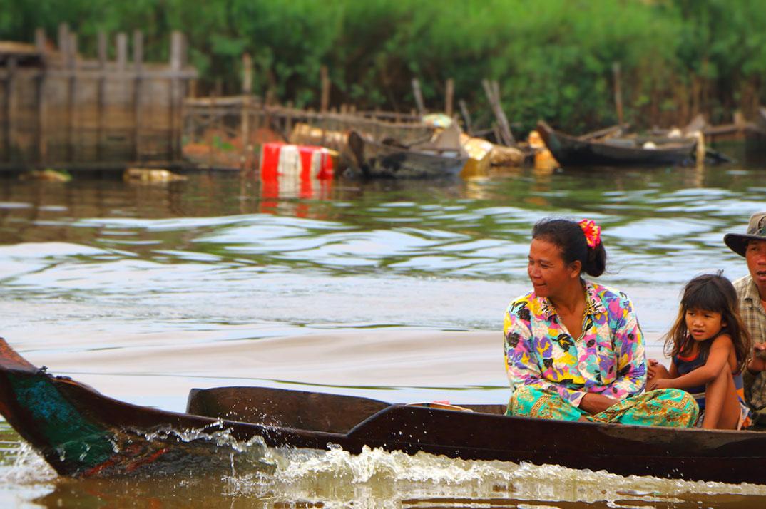 Cambodge Famille Fondation Charruau