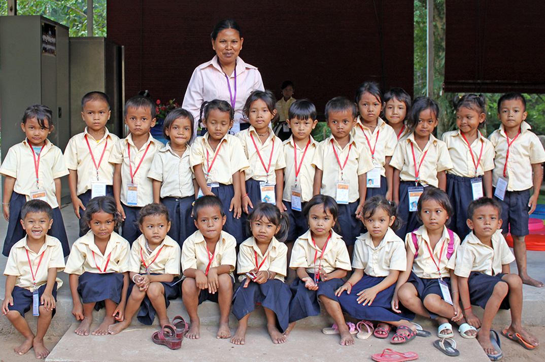 Cambodia: A New Nursery School In The Jungle Temples Of Angkor