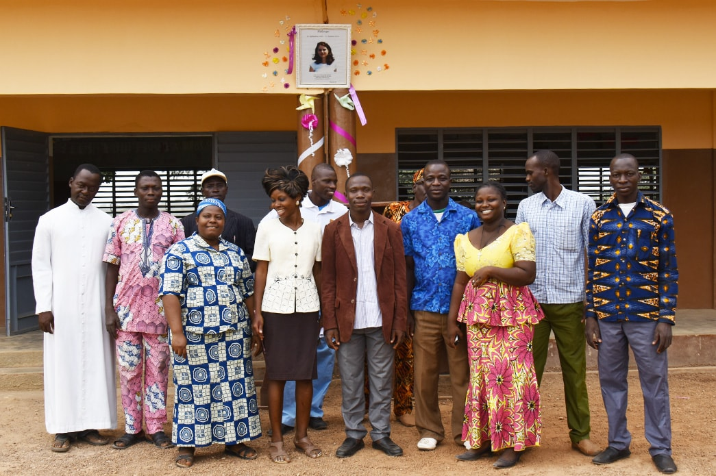 Benin:  A Ceremony In Memory Of Heloïse At The Alfa Kpara School.