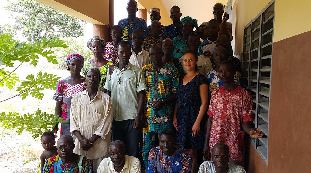 Benin Envoi Dune Volontaire Dediee A La Structuration Et La Croissance De Loeuvre Educative Dalfa Kpara