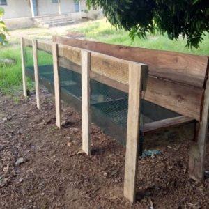 Construction 1ere Version De Cage à Lapins