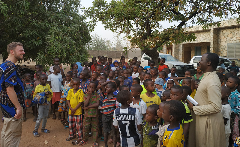 Un Nouveau Volontaire à Alfa Kpara 🇧🇯